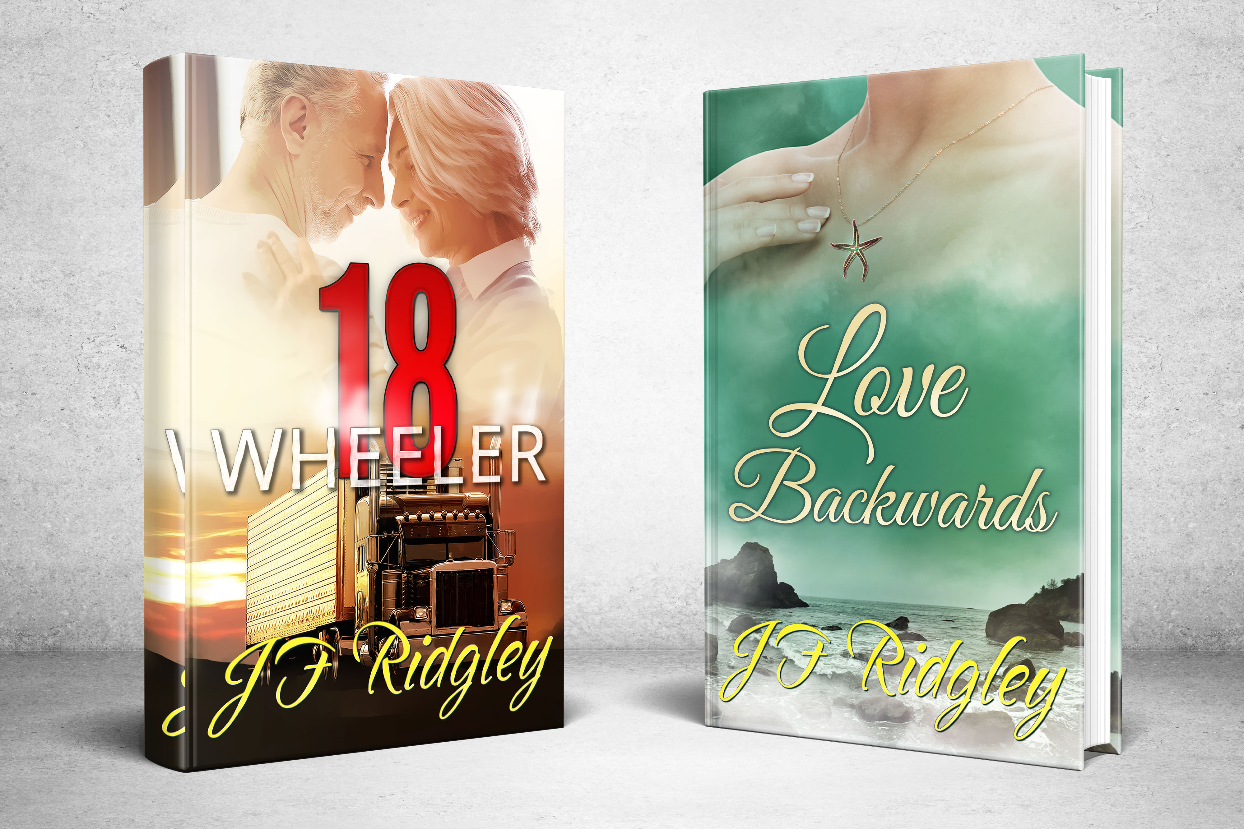 JF Ridgley Contemporary Romance Books