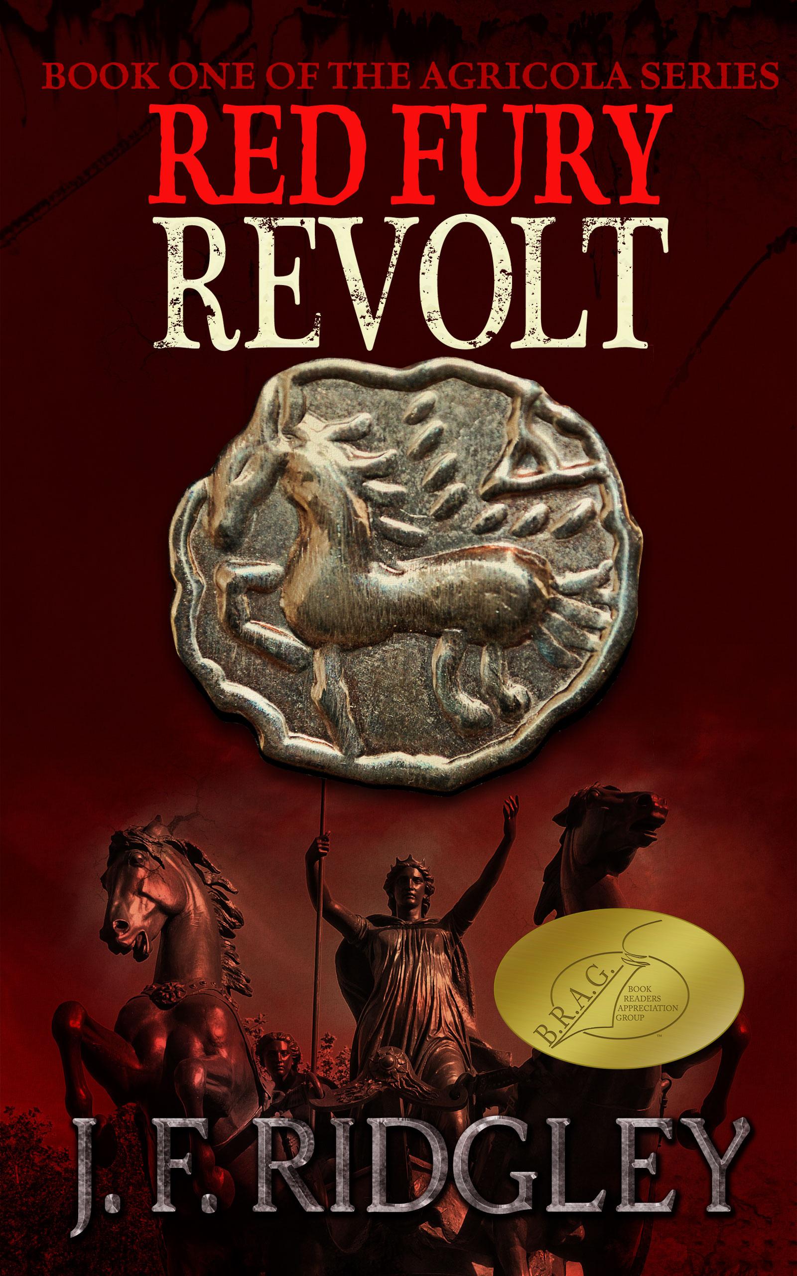 Red Fury Revolt by JF Ridgley