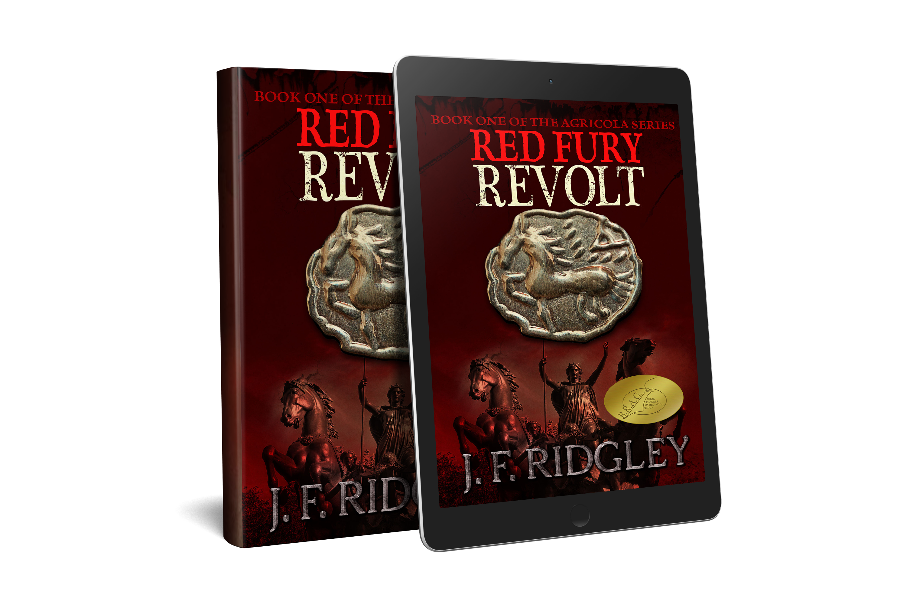 Red Fury Revolt by JF Ridgley