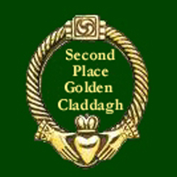 Gold Claddagh second place